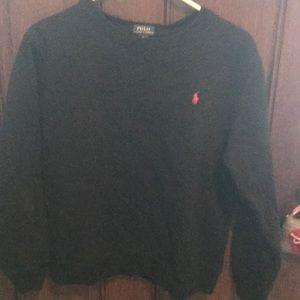 Boys xl Ralph Lauren black sweatshirt